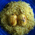Egg Biryani | Fried Masala Egg Biryani |