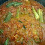 Tomato Drumstick Curry | Tomato Munagakaya Curry